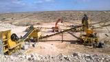 Uzbekistan 100TPH crusher plant